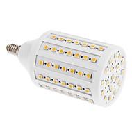 E14 Bombillas LED de Mazorca T 102 SMD 5050 lm Blanco Cálido 3000 K V
