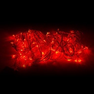10M 100-LED Red Light LED-uri de Crăciun de decorare Light String (220V)