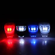 Sykkellykter Frontlys til sykkel sikkerhet lys LED Sykling CR2032 Lumens Batteri Sykling