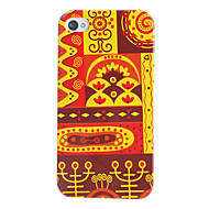 Red Tone Ethnic Style Pattern Hard Case for iPhone 4/4S iPhone Cases