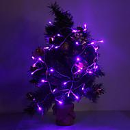4m 3w 40 led 210lm μοβ / κίτρινο / κόκκινο / μπλε / λευκό / ζεστό λευκό φως οδήγησε λωρίδα φως για διακοσμήσεις διακοπών