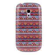 Недорогие Чехлы и кейсы для Galaxy S-Национальность Style # 005 Pattern Пластиковые Твердый переплет чехол для Samsung Galaxy S3 Мини I8190