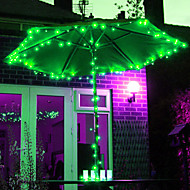 12M 100 LED RGB Light LED Solar Light Strip voor Christmas Decorations