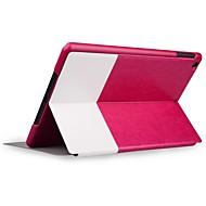 halpa iPad kuoret / kotelot-Hammastikku Grain Full Body nahkakotelo iPad Air (Assorted Colors)
