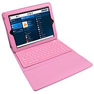 billige iPad-tastaturer-til case cover med stativ med tastatur flip hele body case solid farve c til ipad2 / 3/4