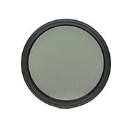 fotga® 52mm 슬림 페이더 ND 필터 조절 변수 중립 밀도 ND2 nd400하기