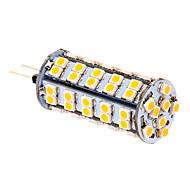 G4 LED-kolbepærer T 66 leds SMD 3020 Varm hvid 380lm 2500-3500K Jævnstrøm 12V