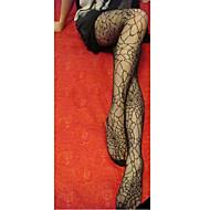 お買い得  -制服のための魅力的な女の子ブラックストライプ女性のストッキング