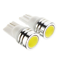 T10 Araba Soğuk Beyaz 1W 6000 Gösterge Işıkları Okuma Işığı Yan Lambalar Fren Işığı Kapı lambası