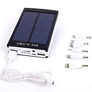 abordables Baterías Externas-Para Batería externa del banco de potencia 5 V Para # Para Cargador de batería Multisalida / Carga Solar LED / Li-polímero / Universal