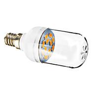 E12 1.5W 12x5730SMD 90-120lm 2800-3200K ciepły biały Żarówka LED Spot światła (220-240V)