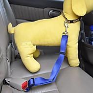 Arnés de Perro para Asiento de Coche /Arnés de Seguridad para Perro Ajustable/Retractable Seguridad Un Color Nailon