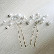 Žene Imitacija Pearl Glava-Vjenčanje Special Occasion Pin kose 6 komada