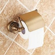 abordables Gadgets de Baño-Soporte para Papel Higiénico Alta calidad Tradicional Latón 1 pieza - Baño del hotel