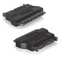 """お買い得  -2.5ハードディスクドライブのSSD用マイクロSATA 16ピンオス3.3VアダプタコンバータIN」のSATA 22ピン(メス)1.8を """""""