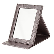 メイク用品収納 鏡 16.5*12.2*1.7 レッド