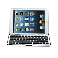 abordables Teclados para iPad-caja de aluminio w / teclado bluetooth para el mini iPad 3 Mini iPad 2 Mini iPad