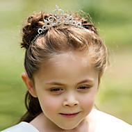 Flower Girl's Rhinestone Alloy Headpiece-Wedding Special Occasion Tiaras Headbands