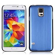 Χαμηλού Κόστους Galaxy S5 Θήκες / Καλύμματα-Για Samsung Galaxy Θήκη Παγωμένη tok Πίσω Κάλυμμα tok Μονόχρωμη PC Samsung S5