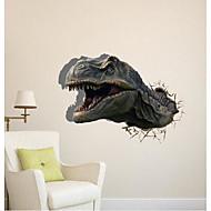 お買い得  PAG CREATIVE®-3D恐竜ウォールステッカー壁飾り