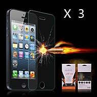 Недорогие Защитные плёнки для экрана iPhone-Защитная плёнка для экрана Apple для iPhone 6s iPhone 6 3 ед. Защитная пленка для экрана Взрывозащищенный