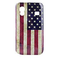 Carcasa de Policarbonato de la Bandera de los Estados Unidos para el Samsung S5830