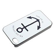 якорь шаблон жесткий футляр для Iphone 7 7 плюс 6с 6 плюс 5 секунд как таковые 5с 5 4s 4