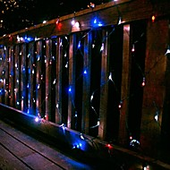 100 LED Light 2m x 1,5 m netto Solar Christmas Light Lampa Holiday Party