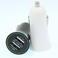 Universal Car Vehicle Power Dual 2 Port USB 2.1A  Car Charger Adapter For iphone ipad HTC Samsung...