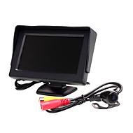 Недорогие Автоэлектроника-4,3 дюйм TFT-LCD Автомобильный реверсивный монитор для Универсальный Двухцветный