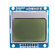 """cheap Electronics Accessories-1.6"""" Nokia 5110 LCD Module with Blue Backlit for (For Arduino)"""