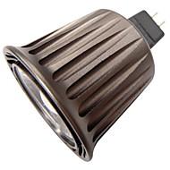 qslighting ® MR16 (GU5.3) 5W 1xcob 380lm 6000K hideg fehér fényt spot lámpák (AC / DC 12 V)