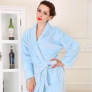 Bath Robe Niebieski,Stały Wysoka jakość 100% Coral Fleece Ręcznik