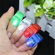 8 pcs coloré led lumière de doigt laser (couleur aléatoire) de haute qualité