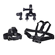 Chest Harness Front Mounting Straps For Action Camera Gopro 5 Gopro 3 Gopro 3+ Gopro 2 Universal Aviation Film and Music Hunting and