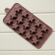 15 Loch Krapfen Pentagramm Formkuchen Eis Gelee Schokoladenformen