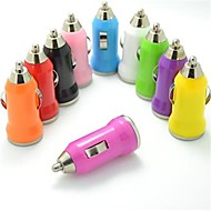 Colorful USB Car Charger for iphone 8 7 Samsung S8 S7 (5V,1A)