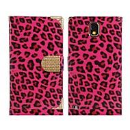 Недорогие Чехлы и кейсы для Galaxy Note-леопардовый искусственная кожа&сплав флип чехол для Samsung Galaxy Note 3 N9000 n9002 (разные цвета)