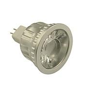 abordables EU Almacén-GU5.3(MR16) Focos LED MR16 1 leds COB Regulable Blanco Cálido Blanco Fresco 500-550lm 2800-3000/6000-6500K DC 12V