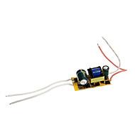 abordables Conectores-0.3a 4-7w dc 12-22v a ac 85-265v controlador de la fuente de alimentación actual constante para focos LED