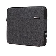 """GEARMAX Sleeve for Macbook 13"""" Macbook Pro 13""""/15"""" MacBook Air 11""""/13"""" MacBook Pro 13""""/15"""" with Retina display Business Solid Color Textile Material"""
