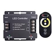 abordables Interruptores  y Enchufes-6a 2 canales inalámbricos rgb llevó el regulador con mando a distancia táctil para rgb llevó la lámpara de la tira (12 ~ 24v)