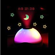 coway fantasie lichtgevende kleurrijke hemel projectie geleid nachtlampje klok