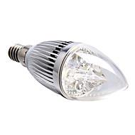 4W E14 Żarówki LED świeczki 4 High Power LED 360 lm Naturalna biel Ściemniana AC 220-240 V