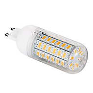 G9 LED Corn Lights T 56 leds SMD 5730 Warm White 1200lm 3000-3500K AC 220-240V
