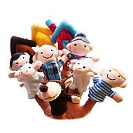 Marioneta de Dedo Juguetes Dibujos Hobbies de Tiempo Libre Niños / Chica Tejido