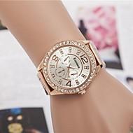 ieftine Bijuterii&Ceasuri-Pentru femei Quartz Ceas de Mână Aliaj Bandă Sclipici / Modă Argint / Auriu / Roz auriu