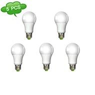abordables Bombillas LED de Globo-Bombillas Globo Regulable DUXLITE A60 E26/E27 12 W 1 COB 1160 LM Blanco Fresco AC 100-240 V 5 piezas