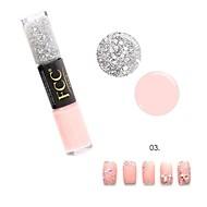 abordables -Gel UV para esmalte de uñas 10 ml 1 pcs Capa superior Empapa de Larga Duración Capa superior