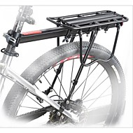 abordables Accesorios para Deporte y Ocio-Bastidor de carga de bicicleta Carga Máxima 25 kg Ajustable Aleación de aluminio Bicicleta de Montaña / Bicicleta de Pista - Negro